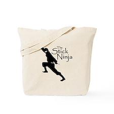 Stick Ninja Tote Bag