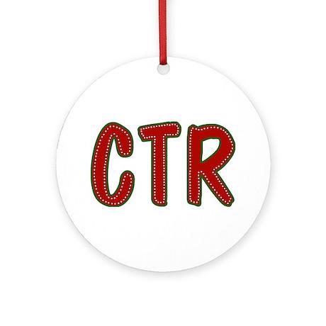 Christmas CTR Ornament (Round)