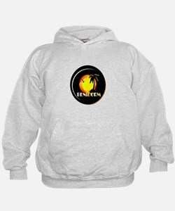 benidorm sunset art illustration Hoodie