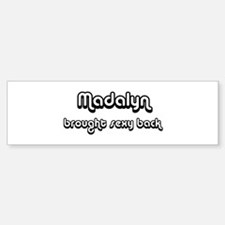 Sexy: Madalyn Bumper Bumper Bumper Sticker