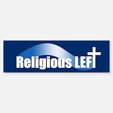 RELIGIOUS LEFT Bumper Bumper Bumper Sticker
