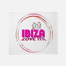 i love it ibiza t shirts art illustration Throw B