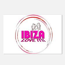 i love it ibiza t shirts art illustration Postcard