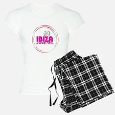 i love it ibiza t shirts art illustration Pajamas