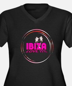 i love it ibiza t shirts art illustration Plus Siz