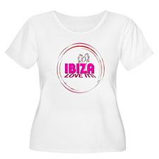 i love it ibiza t shirts art illustration Plus Siz