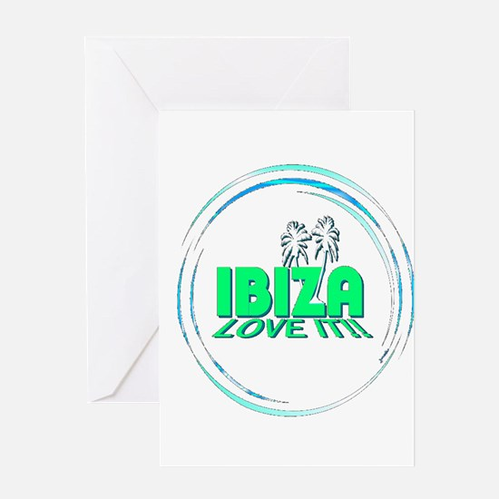 Ibiza I Love It Greeting Card