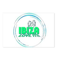 Ibiza I Love It Postcards (Package of 8)