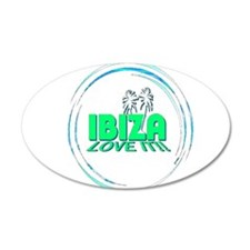 Ibiza I Love It Wall Decal