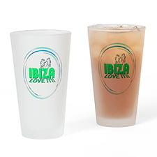 Ibiza I Love It Drinking Glass