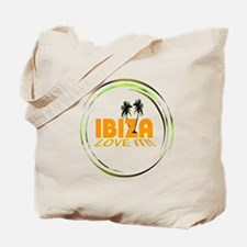 Ibiza I Love It Art Illustration Tote Bag