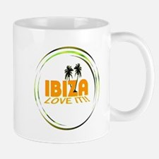 Ibiza I Love It Art Illustration Mug