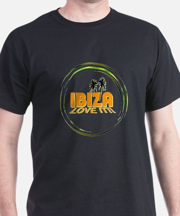 Ibiza I Love It Art Illustration T-Shirt