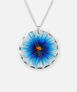 Atomic structure, artwork - Necklace