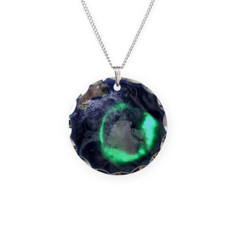 tellite image - Necklace Circle Charm