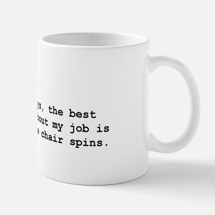 Spinning chair Mug
