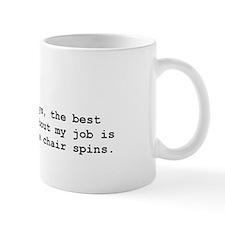Spinning chair Small Mug