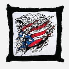 American Angler Throw Pillow