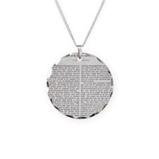Punishment of Slaves text - Necklace