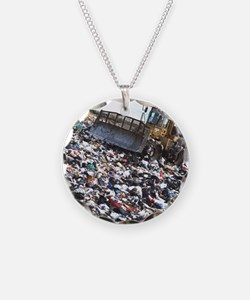 g a landfill refuse site - Necklace