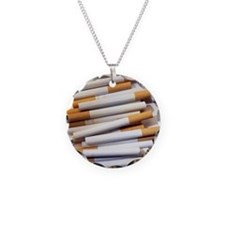 Cigarettes - Necklace Circle Charm