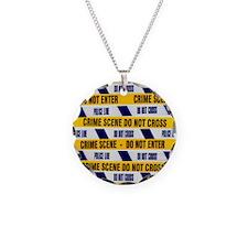 Crime scene tape - Necklace