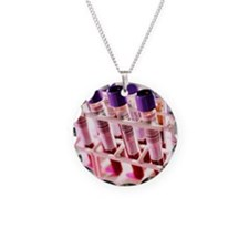 ining blood for analysis - Necklace