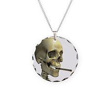 Smoking skeleton - Necklace