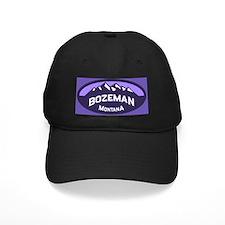 Bozeman Logo Violet Baseball Hat