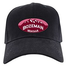 Bozeman Logo Honeysuckle Baseball Hat