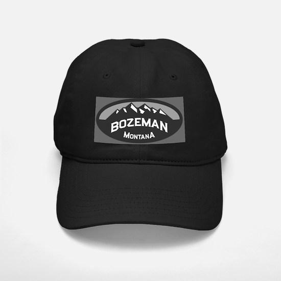 Bozeman Logo Grey Baseball Hat