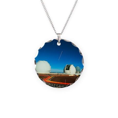 s on Mauna Kea, Hawaii - Necklace Circle Charm