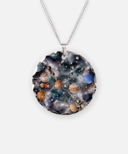 Solar system planets - Necklace