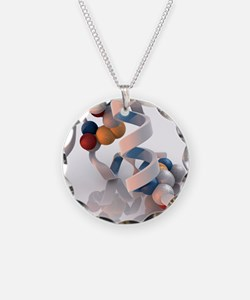 Insulin molecule - Necklace