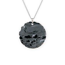 Apollo 17 astronaut - Necklace Circle Charm