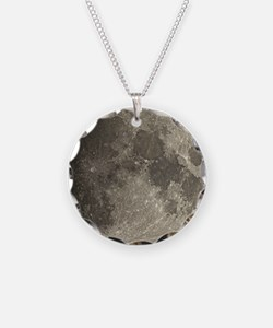 Waxing gibbous Moon - Necklace