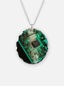 Computer circuit board - Necklace