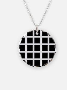 Hermann grid - Necklace