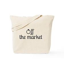 Off the Market Bride Tote Bag