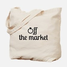 Off the Market Bride Tote Bag