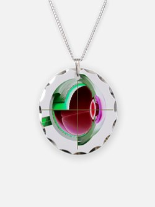 Human eye - Necklace