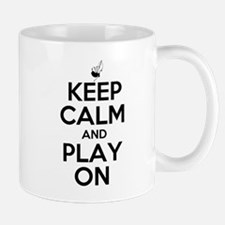 Keep Calm and Play On Bagpipe Mug