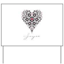 Love Joyce Yard Sign