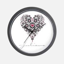 Love Juliana Wall Clock