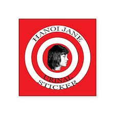 Hanoi Jane Urinal Sticker