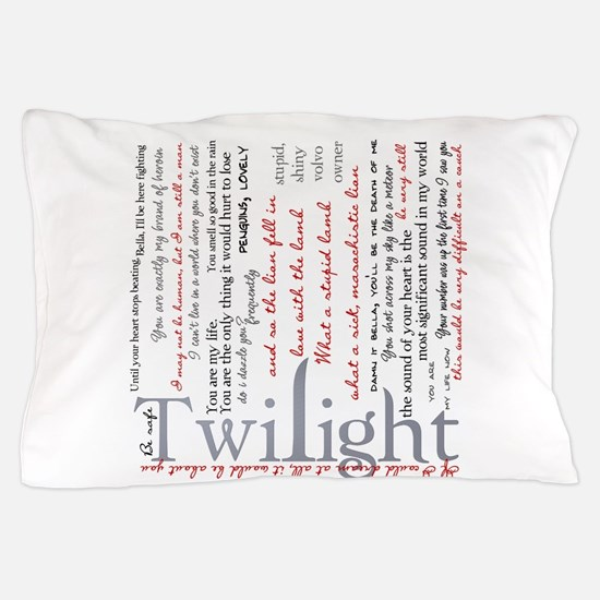 Cute Team emmett cullen Pillow Case
