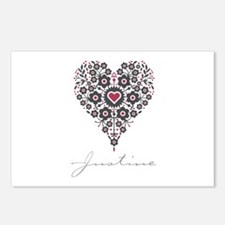 Love Justine Postcards (Package of 8)