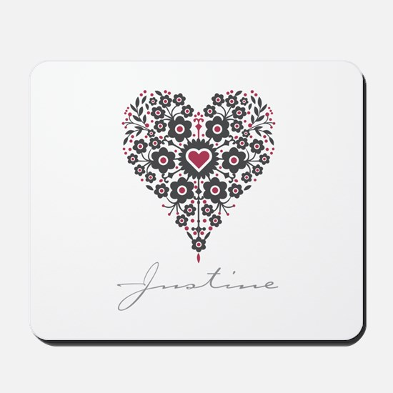 Love Justine Mousepad