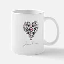 Love Justine Small Small Mug