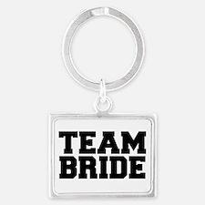 Team Bride Landscape Keychain